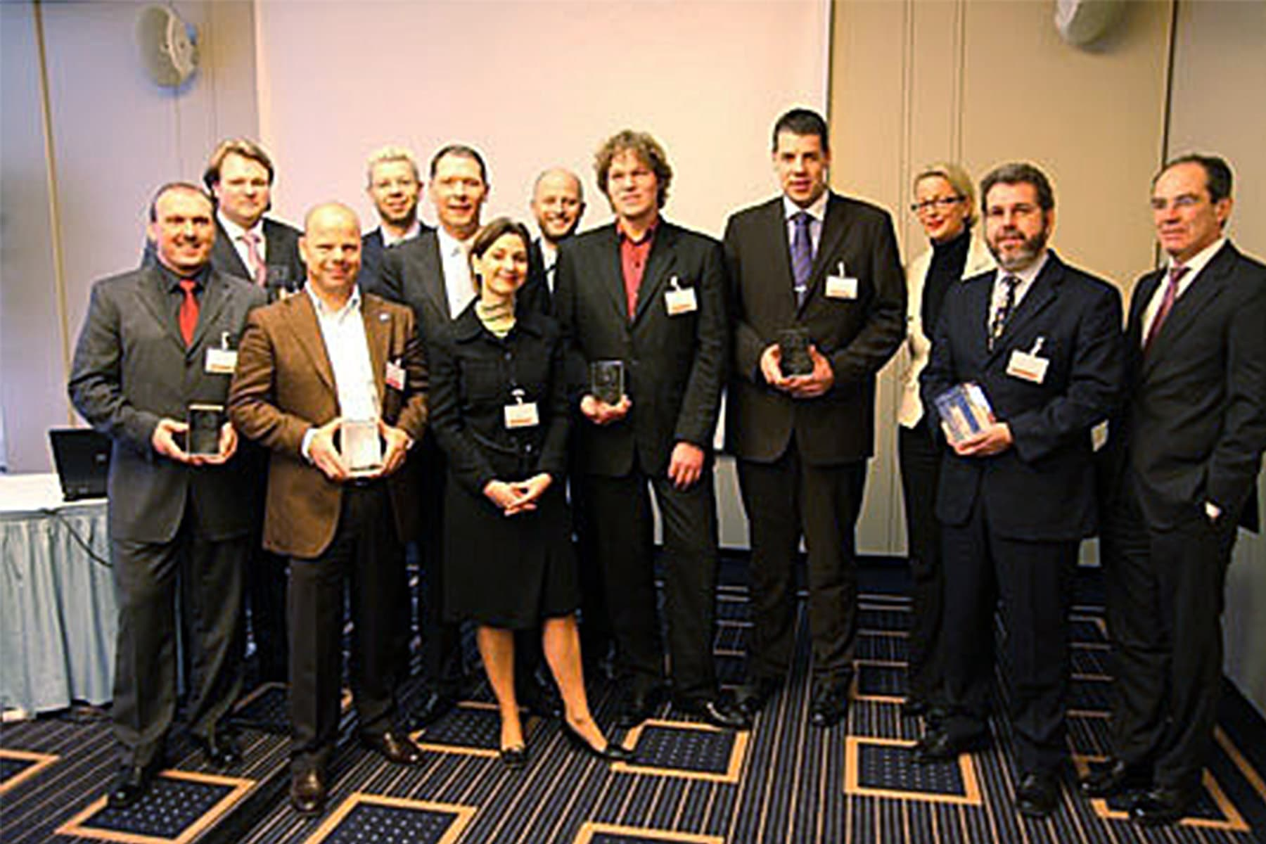 HP Preferred Partner Award 2007 IT-HAUS-GmbH