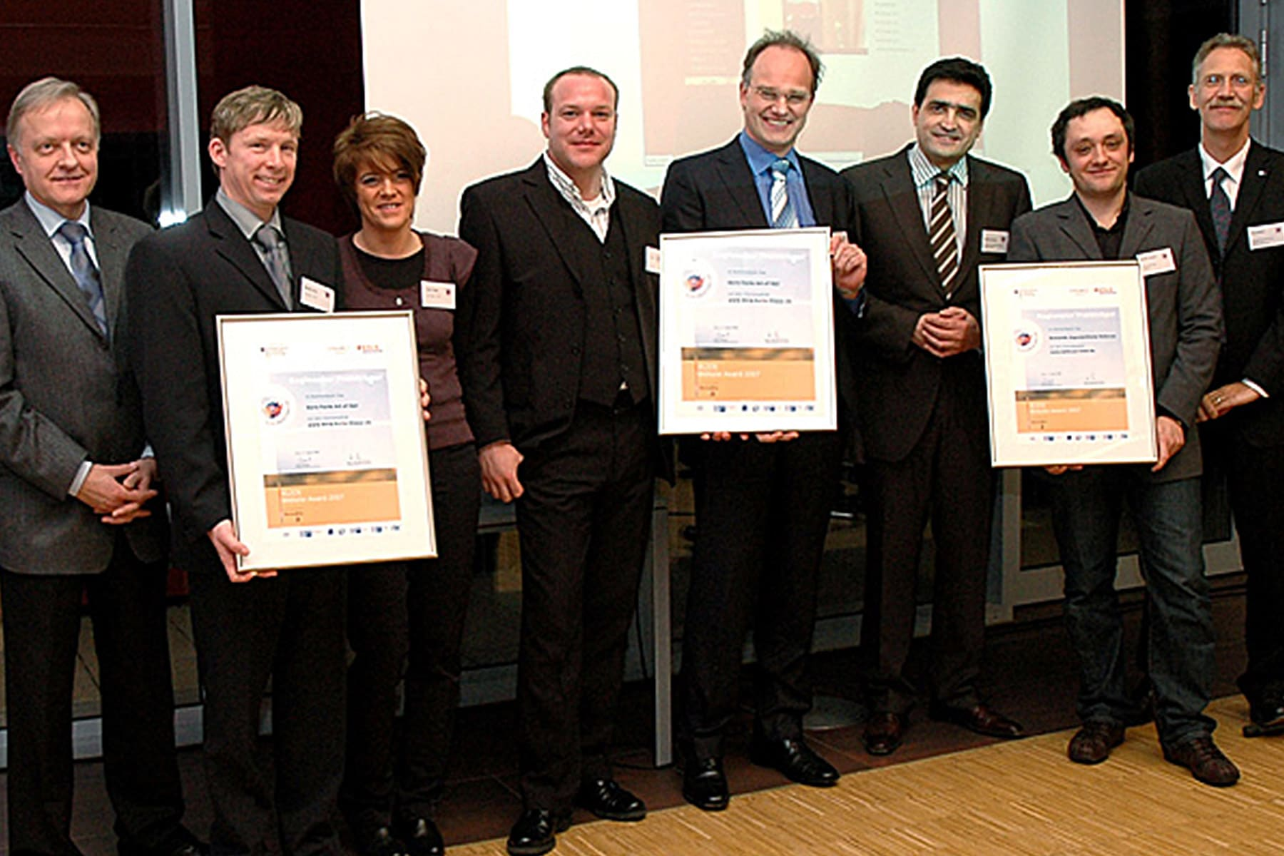 Klick Website Award IT-HAUS GmbH