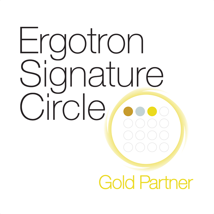 Ergotron Partnerschaften IT-HAUS Gold Partner