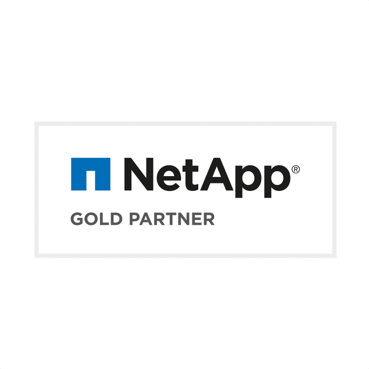 NetApp Partnerschaft mit IT-HAUS Gold Partner