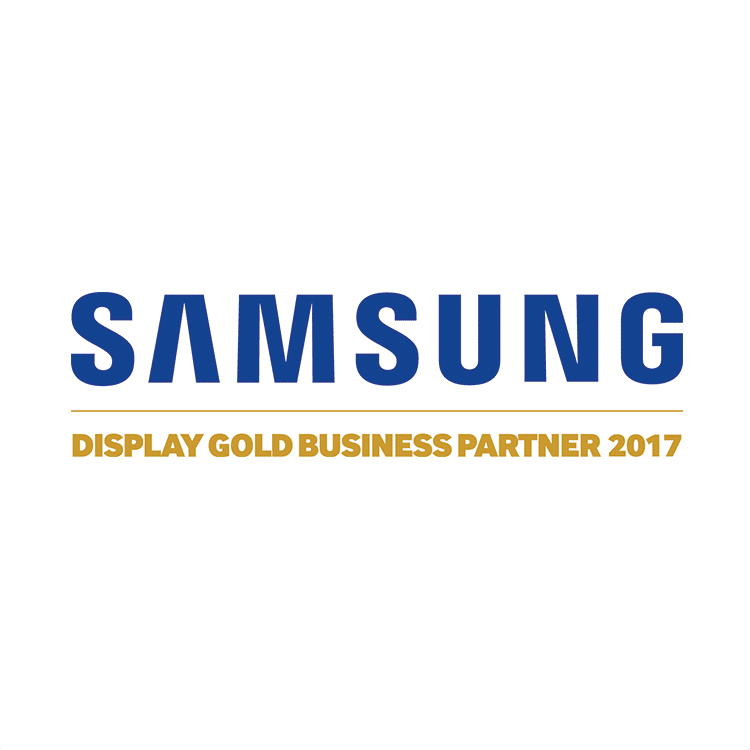 Samsung Partnerschaft mit IT-HAUS Display Gold
